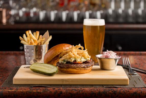 Burger Night at Maxwell's at East Bank Club