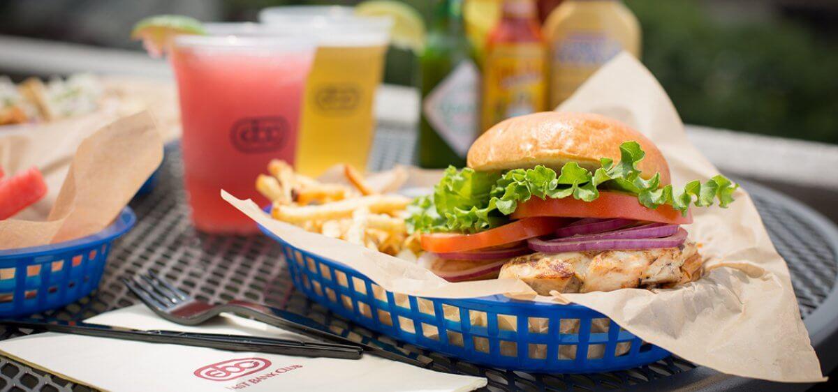 East Bank Club Sun Deck Chicken Sandwich